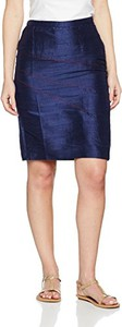 Niebieska spódnica Auteurs Du Monde midi