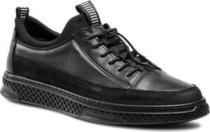Sneakersy BADURA - 3785-698 Czarny