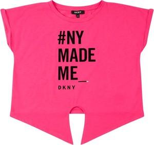 Koszulka dziecięca DKNY z krótkim rękawem