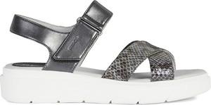 Sandały Geox w stylu casual ze skóry