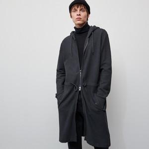 Czarna bluza Reserved z bawełny