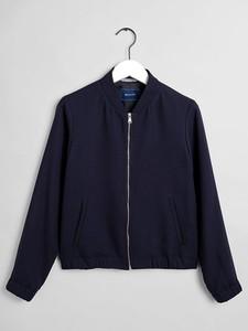 Granatowa kurtka Gant w stylu casual