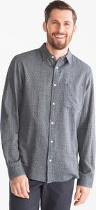 Koszula ANGELO LITRICO z długim rękawem z bawełny w stylu casual
