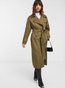 Zielony płaszcz Asos