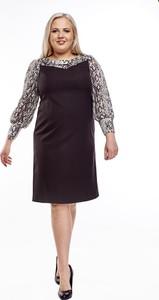 Sukienka Fokus z długim rękawem