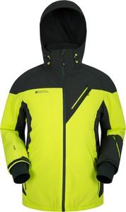 Zielona kurtka Mountain Warehouse z plaru