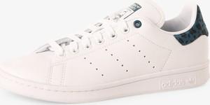 Trampki Adidas Originals z płaską podeszwą ze skóry