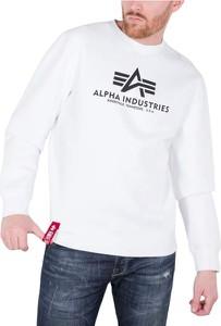 Bluza Alpha Industries w młodzieżowym stylu z bawełny