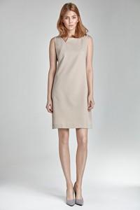 Sukienka Merg bez rękawów z dekoltem w kształcie litery v mini