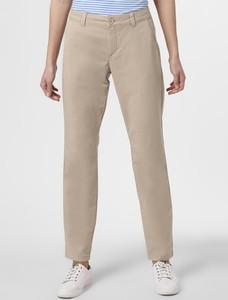 Brązowe spodnie comma, w stylu klasycznym
