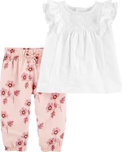 Bluzka dziecięca Carter's dla dziewczynek w kwiatki