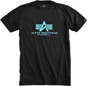 T-shirt Alpha Industries z krótkim rękawem z bawełny
