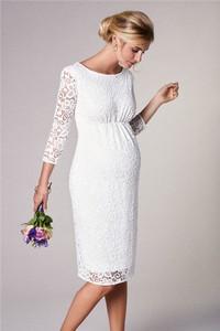 d466907a suknie ślubne ciążowe warszawa - stylowo i modnie z Allani
