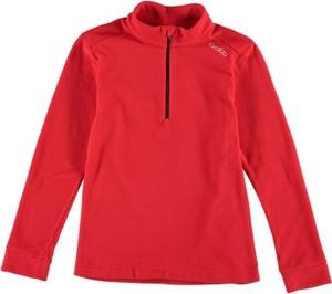 Czerwona bluza dziecięca ODLO