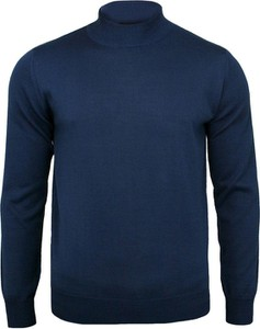 Granatowy sweter Mm Classic w stylu casual