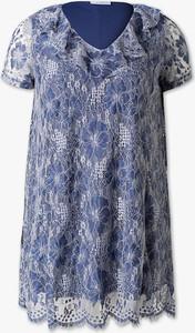 Niebieska sukienka YESSICA w stylu boho