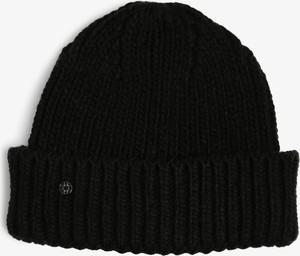 Czarna czapka Marie Lund