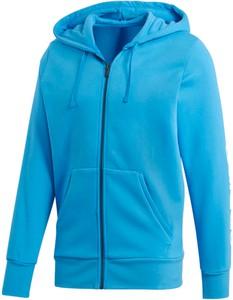 Niebieska bluza Adidas z plaru w street stylu