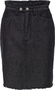 Czarna spódnica bonprix z bawełny