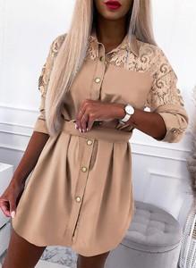 Sukienka Sandbella mini koszulowa