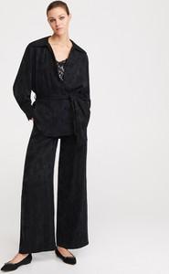 Spodnie Reserved w stylu retro z żakardu