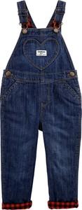 Granatowe spodnie dziecięce OshKosh