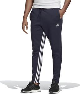 Granatowe spodnie sportowe Adidas