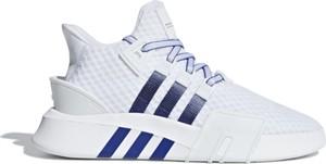 Buty sportowe Adidas sznurowane z nubuku w sportowym stylu