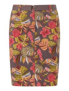 Spódnica Christian Berg Women z bawełny w stylu casual