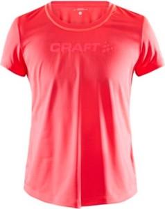 Różowa bluzka Craft w sportowym stylu