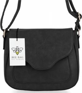Czarna torebka Bee Bag duża w stylu glamour