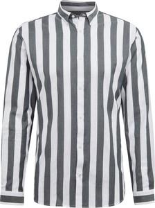 Koszula Jack & Jones z bawełny z klasycznym kołnierzykiem z długim rękawem