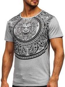 T-shirt Denley z krótkim rękawem z nadrukiem