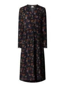 Sukienka Vila z długim rękawem koszulowa midi