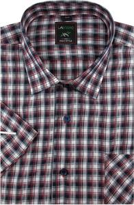 Koszula Laviino z tkaniny z krótkim rękawem