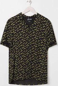 Koszula Sinsay z krótkim rękawem w młodzieżowym stylu