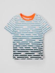 Koszulka dziecięca S.Oliver z bawełny dla chłopców z krótkim rękawem