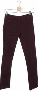 Czerwone jeansy Le Phare De La Baleine w street stylu
