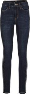 Niebieskie jeansy bonprix BODYFLIRT w rockowym stylu