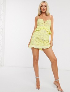 Żółta sukienka Love Triangle