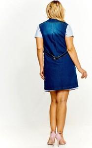 Niebieska kamizelka Nubile z jeansu