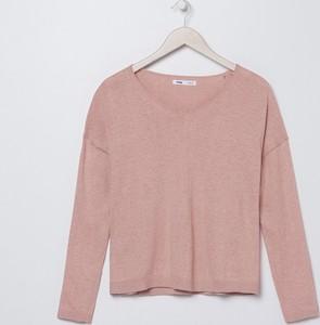 Sweter Sinsay z bawełny w stylu casual