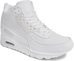 Buty sportowe Gemre z płaską podeszwą w sportowym stylu sznurowane