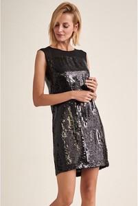Sukienka Tatuum mini z okrągłym dekoltem prosta