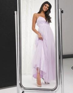 Fioletowa sukienka Bariano