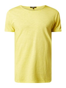 Żółty t-shirt Tigha z dżerseju