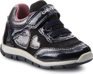 49424abad835d Czarne buty sportowe dziecięce Geox, kolekcja wiosna 2019
