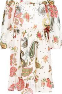 Sukienka Liu-Jo z długim rękawem mini hiszpanka