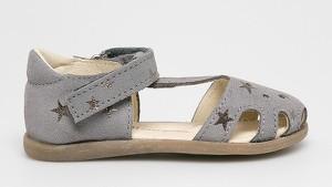Buty dziecięce letnie Mrugała ze skóry