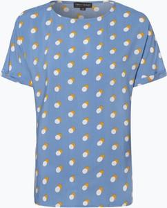 Bluzka Franco Callegari w stylu casual z okrągłym dekoltem